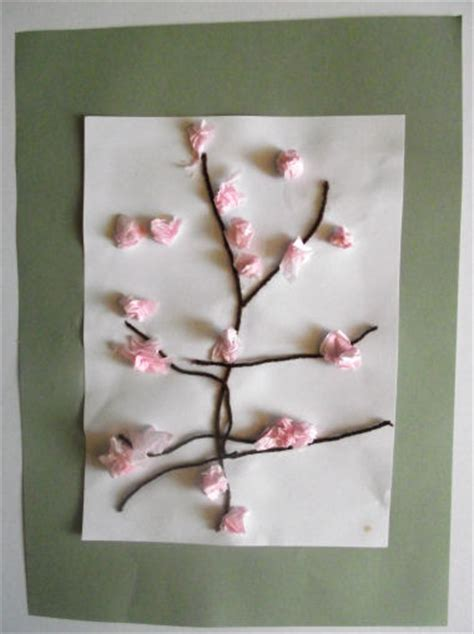 blossom tree collage  kids