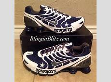 the best attitude a3dc4 062e4 ... buy womens or mens dallas cowboys nike turbo shox by blinginblitz 0d7ad  1d2a6