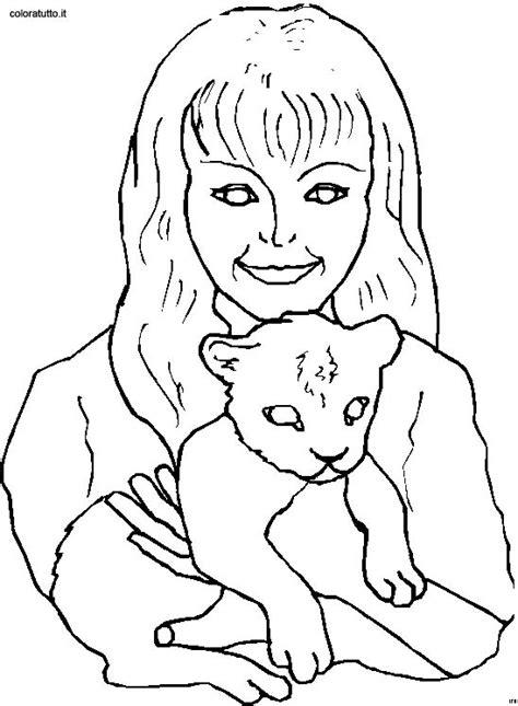 persone  animali  disegni  bambini da colorare
