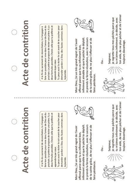 lacte de contrition catechisme emmanuel