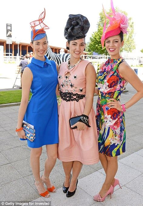 Epsom Ladies' Day sees fillies in fascinators and fancy frocks descend on the Derby   Daily Mail