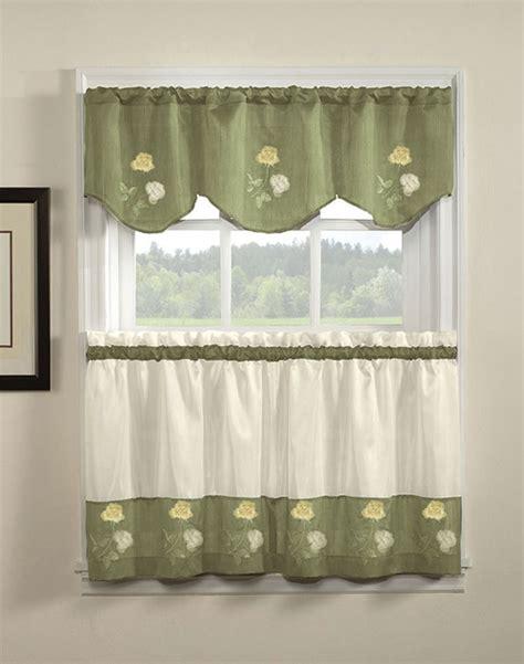 kitchen curtains renewing your kitchen curtains