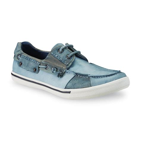 J75 By Jump Captain Boat Shoe j75 by jump mens captain teal blue boat shoe size 9