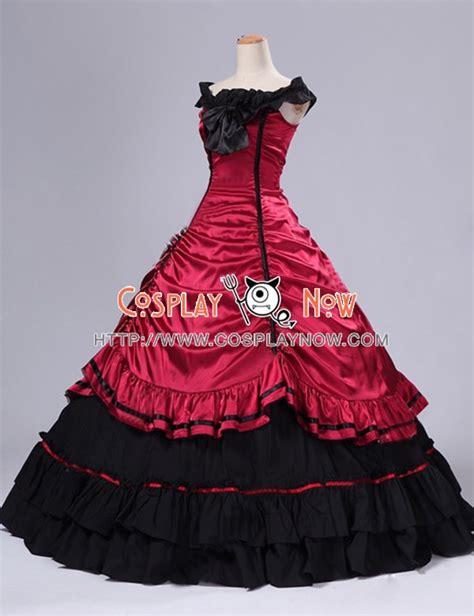 southern belle civil war ball gown formal reenactment