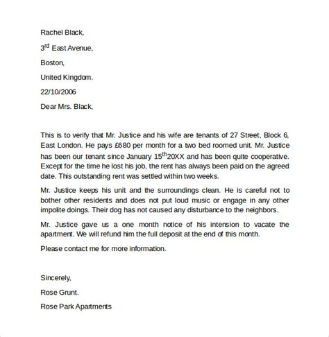 work reference letters samples examples formats