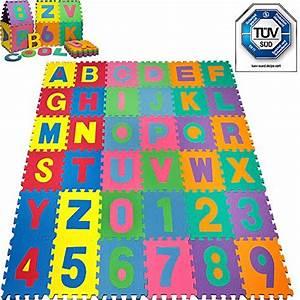 Tapis Bebe Mousse : puzzle tapis mousse b b alphabet et chiffres puzzle tapis mousse pas cher ventes pas ~ Teatrodelosmanantiales.com Idées de Décoration