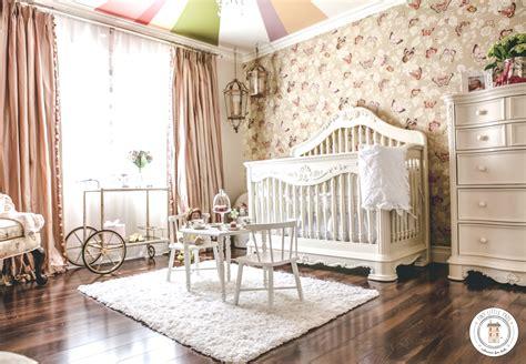 Modern Rococo Baby Girl Nursery  Project Nursery