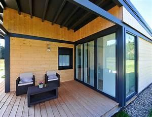 Maison En Bois Tout Compris : maison bois plain pied type loft nos maisons ossatures ~ Melissatoandfro.com Idées de Décoration
