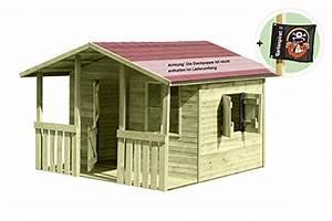 Spielhaus Mit Veranda : gartenpirat kinderspielhaus lisa garten ~ Frokenaadalensverden.com Haus und Dekorationen