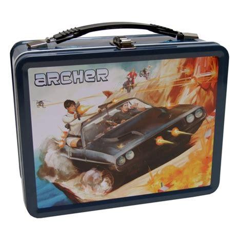 Archer   Secret Agent Retro Style Metal Lunchbox