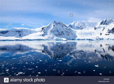 View of Wilhelmina Bay, Antarctica Stock Photo, Royalty ...