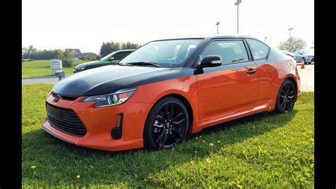 2016 Scion Tc Horsepower by 2015 Scion Tc Release Series 9 0 Start Up Exhaust