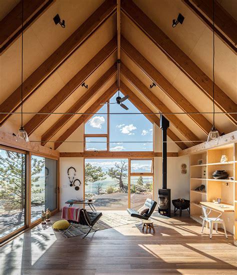 big cabin  cabin  renee del gaudio urdesignmag