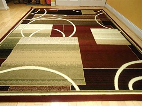 Living Room With Burgundy Rug by Contemporary Rug Multi Colored Area Rugs 8x11 Rug Rug