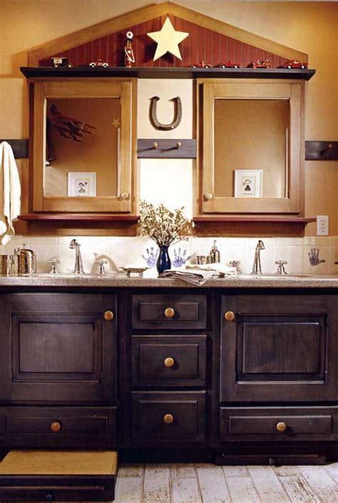 western bathroom inspiration stylish western home