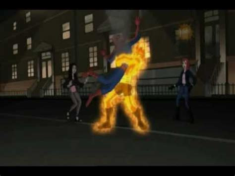 spiderman  molten man youtube