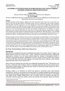 Management Research Paper Topics management research paper