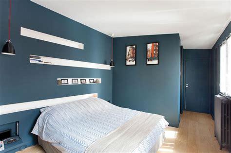 chambre adulte bleu exemple couleur peinture chambre