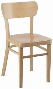 Chaise Bistrot Bois : chaise bistrot bois meuble de salon contemporain ~ Teatrodelosmanantiales.com Idées de Décoration