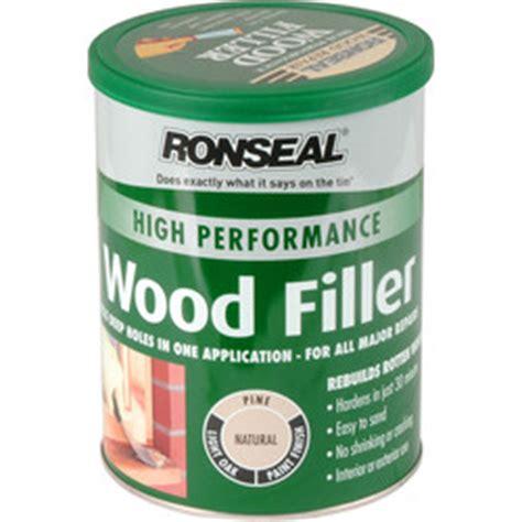 Ronseal High Performance Wood Filler Natural 1kg Toolstation