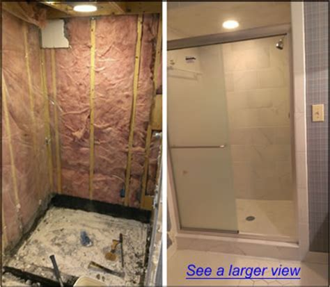 Apex NC Shower Remodeling   Bath Tub to Shower Remodeling