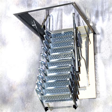 folding staircase folding staircase type quot loft h250 quot l00l stairs