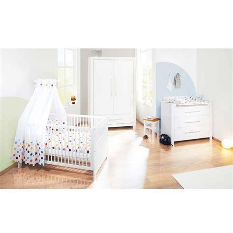 chambre bébé pinolino chambre bébé 3 pièces puro blanc pinolino acheter sur