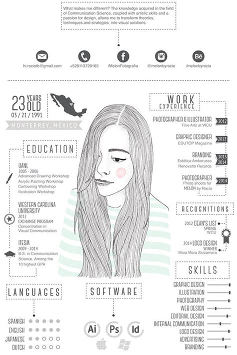 39 fantastically creative resume and cv exles 1212 best images about infographic visual resumes on cool resumes behance and my resume