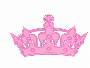 Cartoon Pink Princess Crown