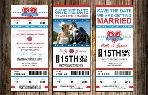 awesome ticket invitation design templates web