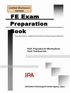 Fe Exam Preparation Book  Limited Disclosure
