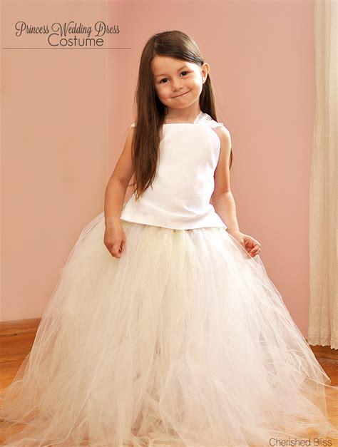 princess wedding dress costume tutorial cherished bliss