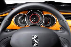 Ds3 Noir Et Orange : bloc compteur de citro n ds3 racing noir obsidien et orange distinctive series ~ Gottalentnigeria.com Avis de Voitures