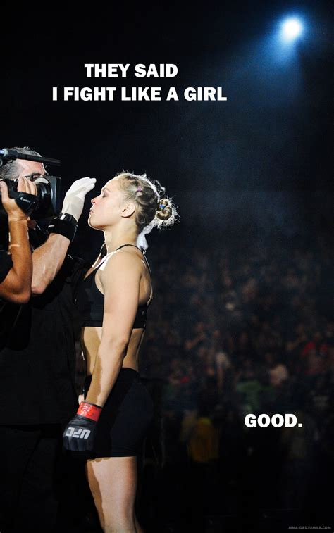Ronda Rousey Meme Pic They Said I Fight Like MMA Fury