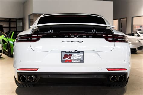 The panamera range is one of the most expansive the panamera range is among the deepest and most excellent in the automotive world, however, including hybrids, wagons, turbo s's, and executive. Used 2018 Porsche Panamera 4S For Sale ($89,900) | Marino Performance Motors Stock #134164