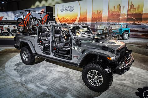 2020 Jeep Gladiator Aftermarket Parts by More Than 200 Mopar Accessories Available For 2020 Jeep