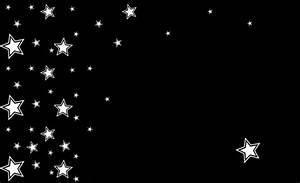 windows: Black Stars Background
