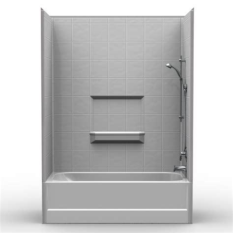 combo shower tub multi tub shower 60 quot x 30 quot x 84 1 2 quot shower tub