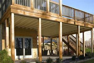 Diy Deck Ceiling Kits Nationwide by Deck Drainage Systems Diy Home Design Ideas