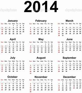 printable 2014 yearly calendar militarybraliciousco With free calendar templates 2014 canada