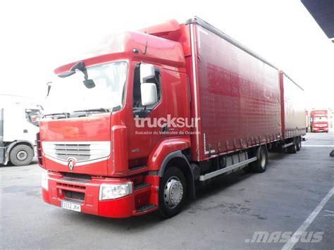 renault trucks premium used renault premium 460 dxi curtain trucks year