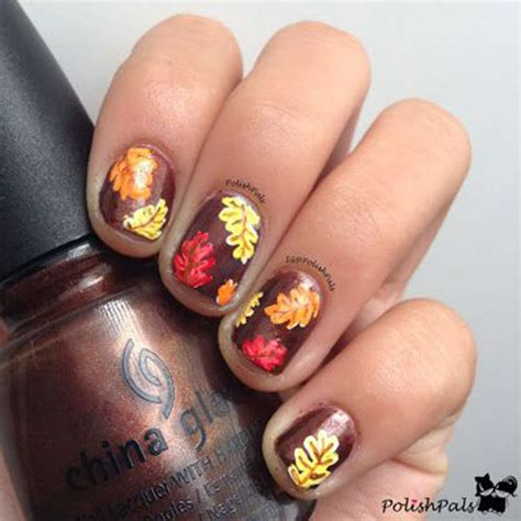 autumn nail designs 15 amazing fall autumn nail designs ideas trends