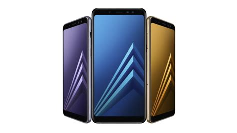 samsung introduces galaxy a8 2018 and a8 2018 with dual selfie cameras gear vr support