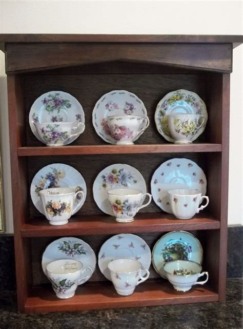 tea cup shelf 17 best images about tea cups holder displays vintage