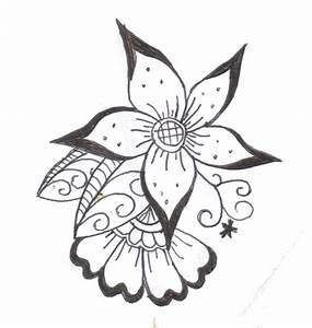 flower henna designs | henna flower 2 by komekoro on ...