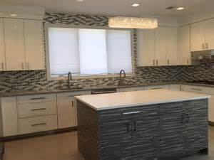 glazzio tiles on quot think glazzio interlace series for your backsplash sleek and