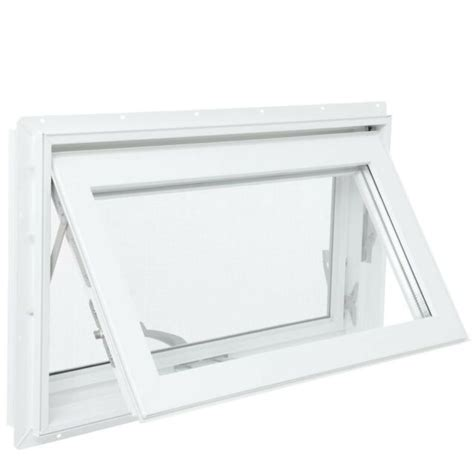 tafco windows      awning vinyl window  screen white  sale  ebay