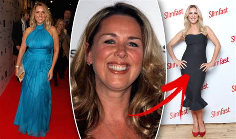 claire sweeney weight loss actress shed  stone