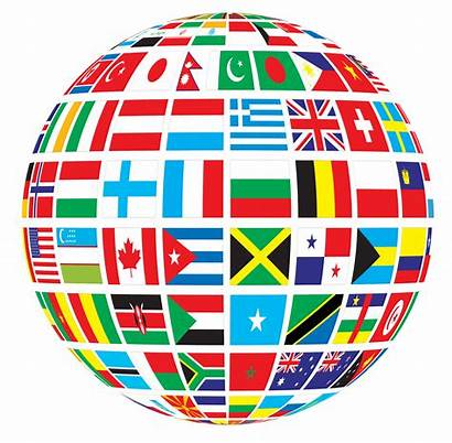 Clipart Nations United Transparent Peace Globe Flags