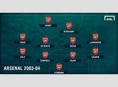 Arsenal Invincibles How Wenger's 200304 Gunners went a